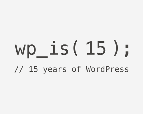 wp_is( 15 );